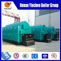 Quality Chain Grate Coal Fired Steam Boiler 1 Ton To 20 Ton Automatic Coal Feeding for sale