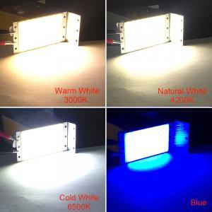 China 12V LED Panel Light COB Lamp 15W Warm Natural Cold White Plate LED Bulb for Car Lighting Worklamp House Lights DIY 94x50 on sale