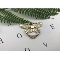 Quality Luxury 3D Shiny Crystal Bling Diamond Glitter Butterfly Kickstand Anti Drop Phone Ring Stand Holder Universal for sale