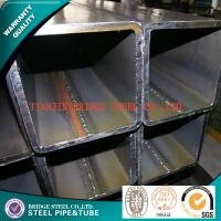Quality API K55 Square Steel Pipe , BS JIS GB ASME Rectangular Steel Tubes for sale