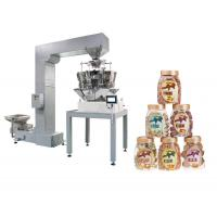 Quality Multiheads Weigh Fill Machine For Food In Box / Bottle / Can / Doybag for sale
