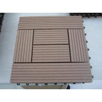 Quality DIY WPC decking tiles for sale