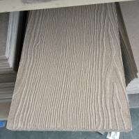 Quality Non Asbestos House Wood Grain Fiber Cement Board for Walls Flooring Panel for sale