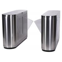 Quality RFID Card Reader Flap Barrier Gate , Waist High Turnstile Access Control for sale
