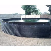 30000 L PVC Tarpaulin Fish Tank Strong Stainless Steel Wire Fish Pond For Fish Farming