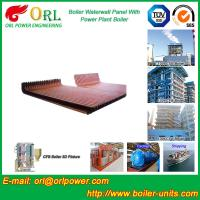 Quality Biomass Boiler Water Wall Panels Anti Corrosion For Metallurgical Industry for sale