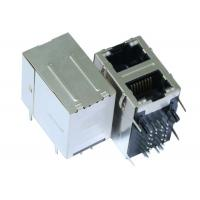 Buy cheap Stacked RJ45 Connector Dual 1G/bit RJ45´s With Separated Middle Tabs LPJG17102AD from wholesalers