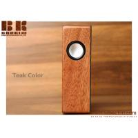 Quality Powerful Wooden BT 4.0 Wireless Bluetooth Speaker Qi Wireless Charger Station Smart Home Speaker for sale