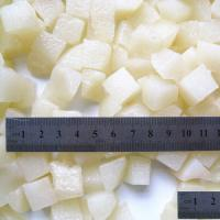 Buy cheap Canned Snow Pears Dices from wholesalers
