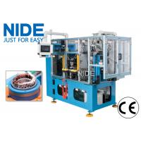 Quality High efficiency automatic 4 working stations electric motor stator coil lacing machine line for sale