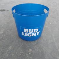 China 8L Cheap Custom Beer Wine  Glass Clear  Plastic Ice Bucket  with Lid on sale