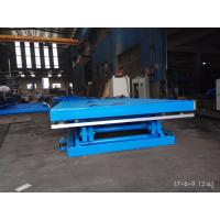 China 8 Ton Heavy Duty Stationary Scissor Lift Platforms 2000*4000mm Table Size on sale
