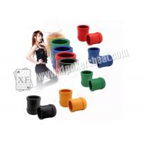 Quality Perspective Dice Cup / Casino Magic Dice Cheating Device With 4h Battery for sale