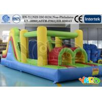 China Large Residential Inflatable Bounce House , Inflatable Obstacle Course For Kids on sale