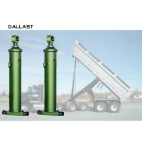 Quality Front - End Telescopic Hydraulic Lift Cylinder Anti Rust Painting 12 Months Warranty for sale
