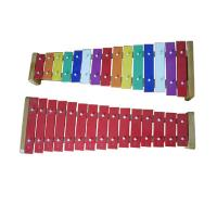 Quality Aluminium Board Xylophone Kids Music Instruments 15 Tunes Colorful Percussiion Toy for sale