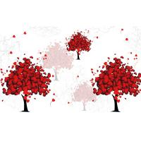 Quality Love Tree Bamboo Fiber Board Moisture Proof 3D 4D 5D Patterns 320cm X 200cm for sale
