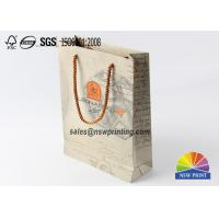 Buy cheap Matt Lamination Handcraft Fashion Atr Paper Gift Bag 4 Color Printing from wholesalers