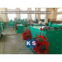 Buy cheap Stable Output Pvc Coated Gabion Mesh Machine , High Speed PVC Coating Line from wholesalers