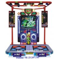 Buy Amusement Equipment Arcade 5.0 Version Indoor Coin Operated Simulator Music Dancing Games Machine at wholesale prices