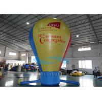 Quality Pure Color Hot Air Balloon Model Inflatable Balls For Outdoor Business Promotional for sale