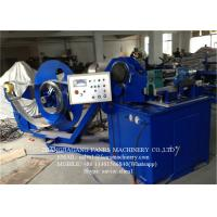 Quality Stainless Steel Spiral Tube Forming Machine With Automatic Cutting System for sale