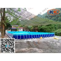 Quality Square Inflatable Swimming Paddling Pool , inflatable above ground pools for sale