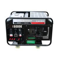China Chongqing Power Electric 15kw portable gasoline generator set air cooling engine 2 cylinder for sale