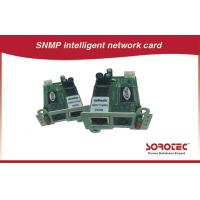 Remote Monitoring UPS Accessories , SNMP / AS400 Card For UPS