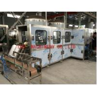 Quality 50HZ Automatic 5 Gallon Filling Machine , 300BPH Pure Water Linear filling machine for sale