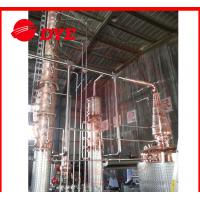 Quality Semi-Automatic Copper Distiller System , Whiskey Distilling Equipment for sale