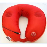 Quality Comfortable Red Music Massage Pillow , U Shape Mp3 Pillow Massager for sale