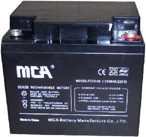 Quality Sealed Lead Acid Battery 12V38AH for sale