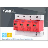 Quality 1P , 2P , 3P , 4P Poles Electrical Surge Protector Device for Home , industrial for sale