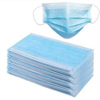 Quality Ear Wearing Disposable Face Mask 3 Ply Air Pollution Protection Mask for sale