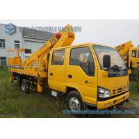 Quality ISUZU 600P High Altitude Operation Truck Aerial Platform Truck Double Row Cabin for sale