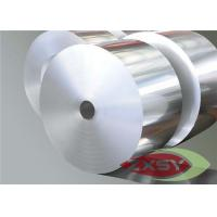 Quality 1040mm Wide Aluminium Foil Roll , AL Foil Jumbo Roll Heat And Acoustic Insulation for sale