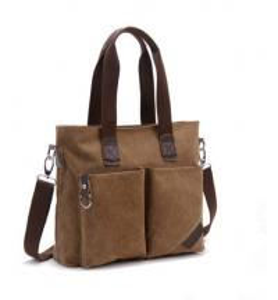 Quality Canvas Large Capacity Cross Shoulder Bag Single Shoulder With Adjustable Straps for sale