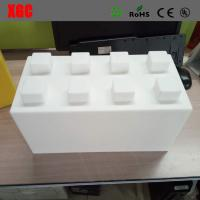 Quality 8 Colors Available Rotational Moulding Made PE Building Blocks For House for sale