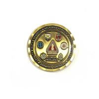 Quality Die Casting Process Military Challenge Coins / Army Ranger Challenge Coin for sale