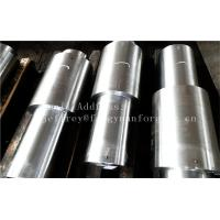Quality Stainless Steel Hot Forged Step Shaft Step Axis Heat Treatment Machined for sale