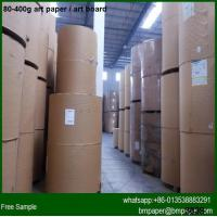 High Gloss / Semi Gloss Paper C2S Art Paper 80g with cheap price for sale