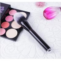 Quality Wood Handle Cosmetics Blush Brush Synthetic Hair Handle Material for sale