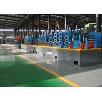 Quality HF Automatic Steel Pipe Making Machine , SS Tube Mill 21 - 63mm Dia for sale