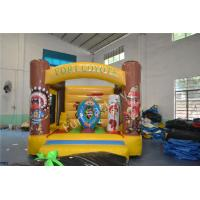 China Outdoor Birthday Party Inflatable Jumper Bouncer With Obstacles on sale