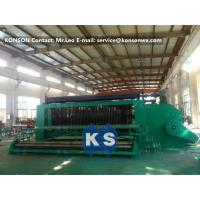 Quality 4.0mm Wire Hexagonal Mesh Machine Double Rack Drive For Making Gabion Baskets for sale