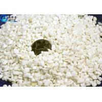 Quality Non-friable White Bottom Aquarium Sand With Mineral Source , Fish Tank Ornament Stone for sale