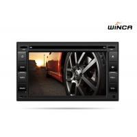 Quality Black 6.2'' Car Audio GPS Navigation For Universal Series Android Car Head Unit for sale
