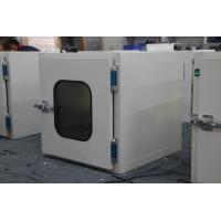 Quality Powder Coating Steel 1.0/1.2/1.5mm Cleanroom Pass Box for sale
