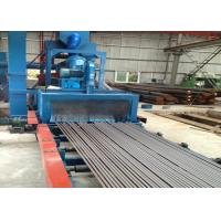 Quality Q69 Series Roller Conveyor Shot Blasting Machine For Tower Crane Rust Cleaning for sale
